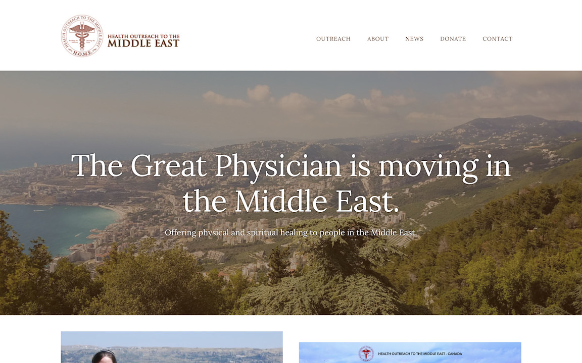 Health Outreach to the Middle East