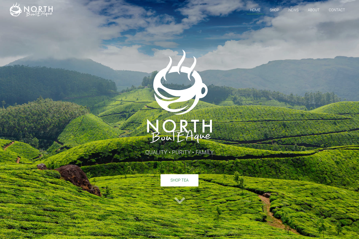 Organic Fair Trade Tea Website