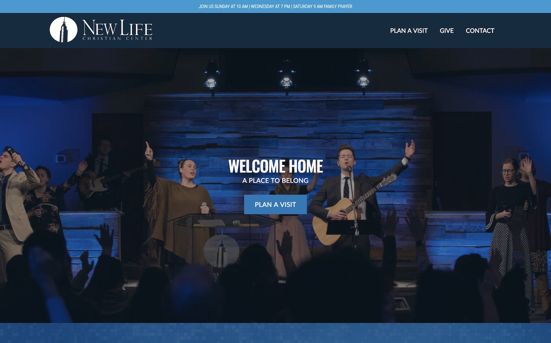 Church website Lancaster Ohio