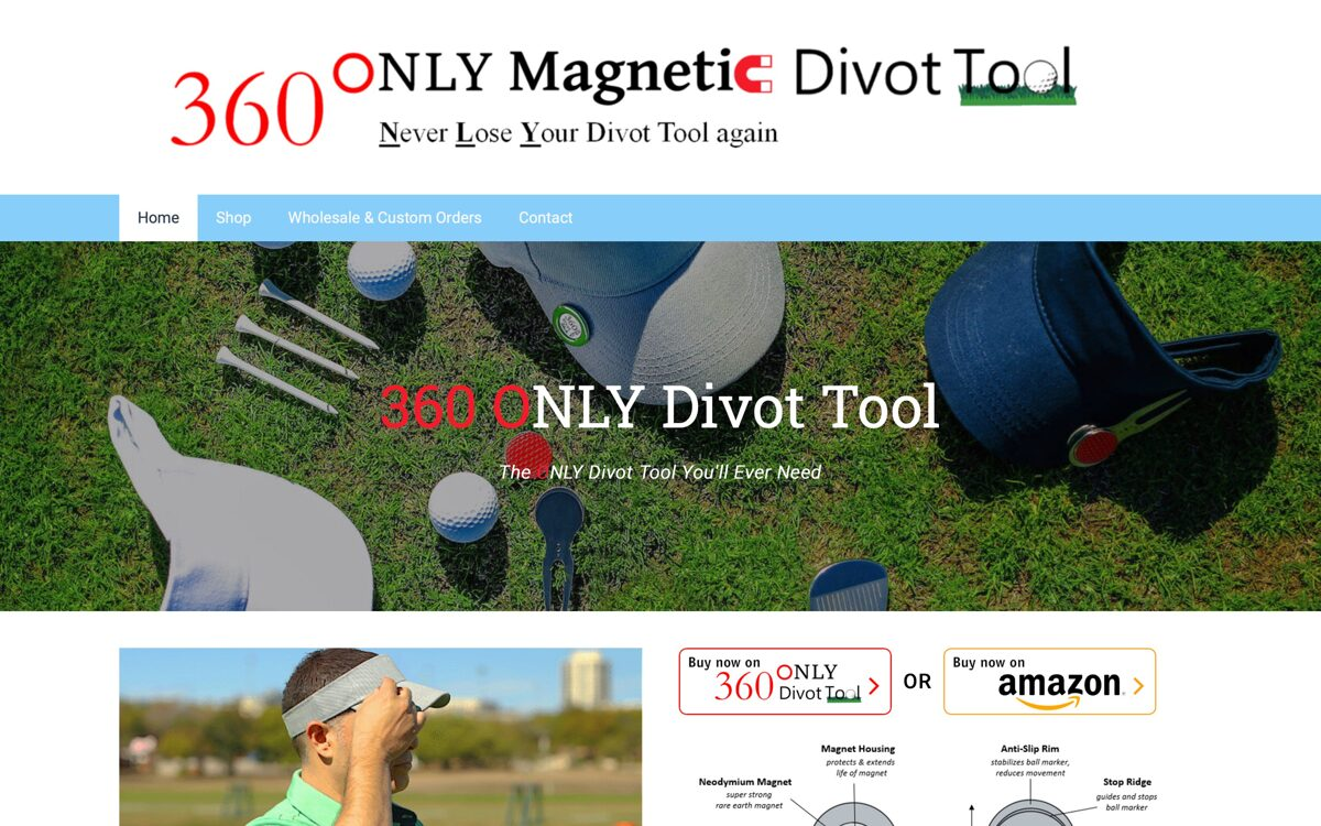 360 Only Divot Tool
