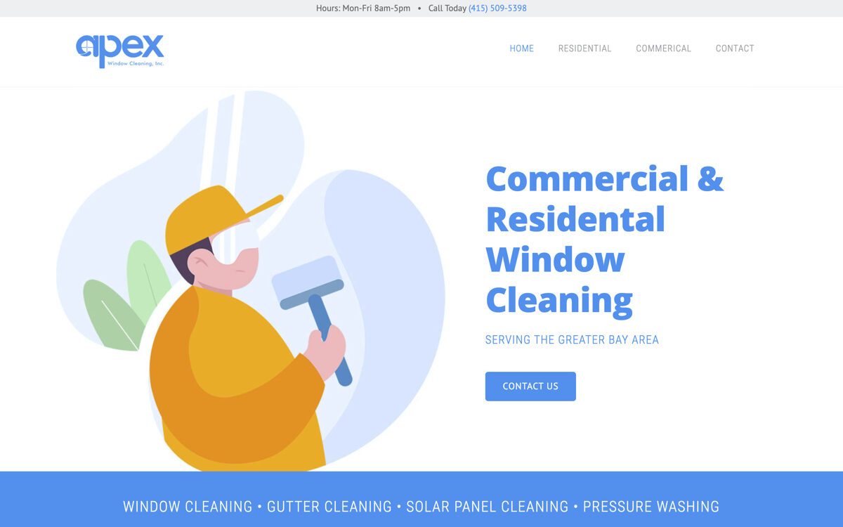 San Fransico window cleaner websites