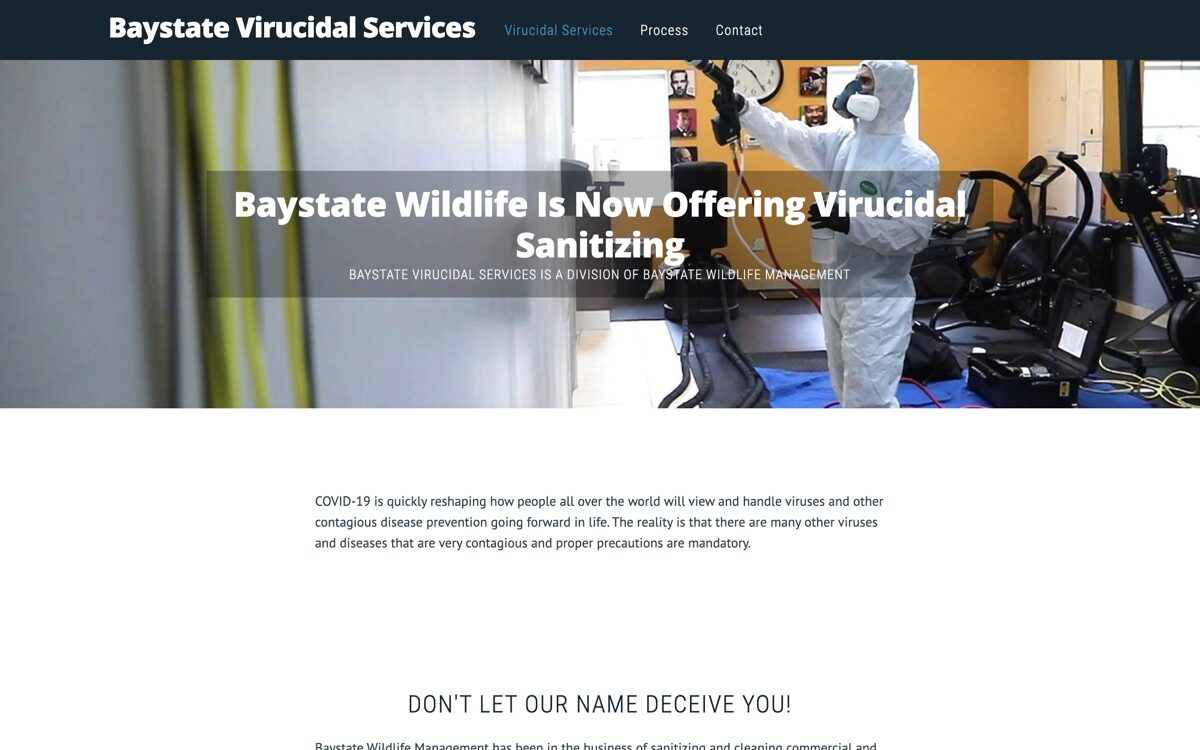 Baystate Virucidal Services