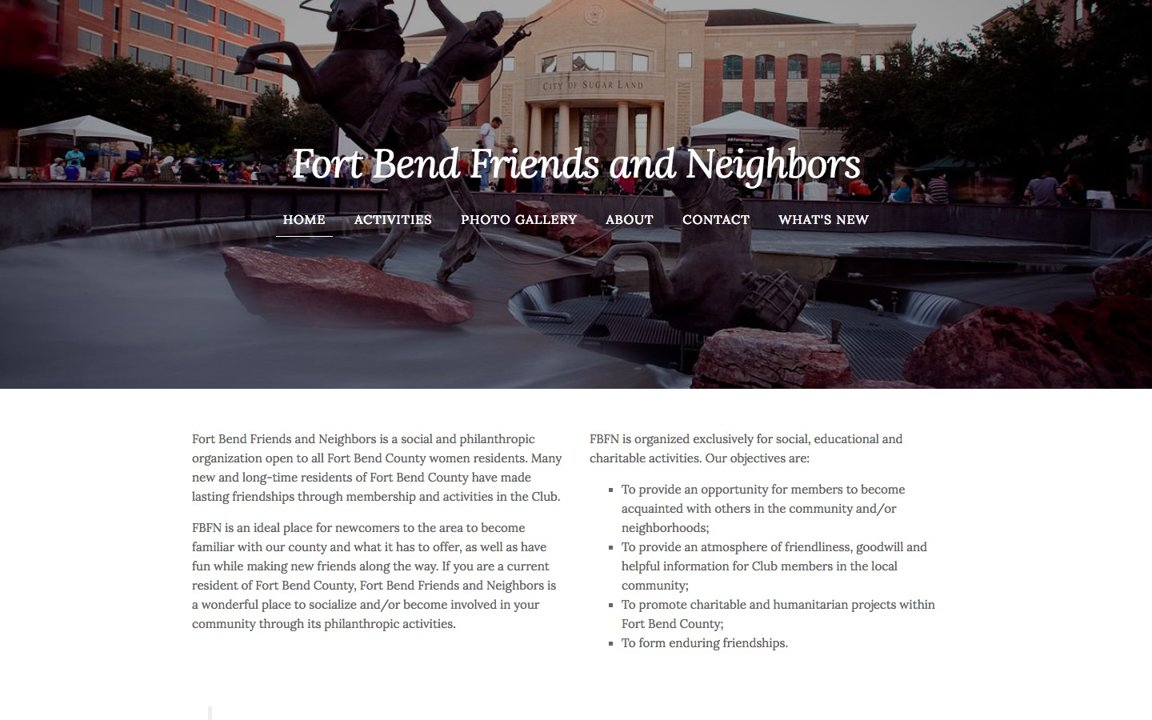 Fort Bend website