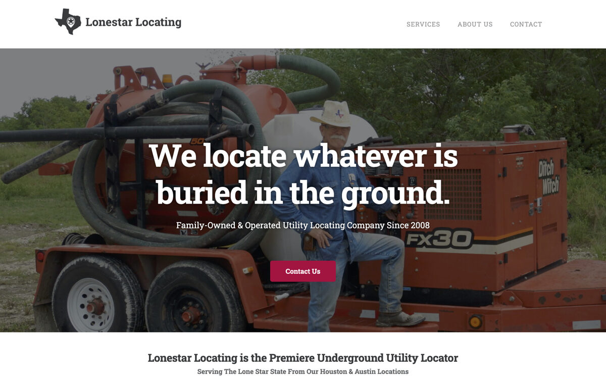 Houston & Austin utility locator websites